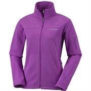 Columbia Womens Fast Trek II Fleece Jacket, Razzle