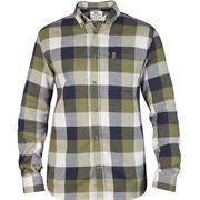 Fj�llr�ven �vik Big Check Shirt L/S Herre, Green
