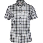 Fj�llr�ven �vik Shirt S/S Mens, Dark Grey