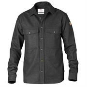 Fj�llr�ven �vik Wool Shirt Mens, Dark Grey