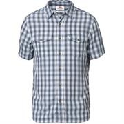 Fjällräven Abisko Cool Shirt S/S Mens, Lake Blue