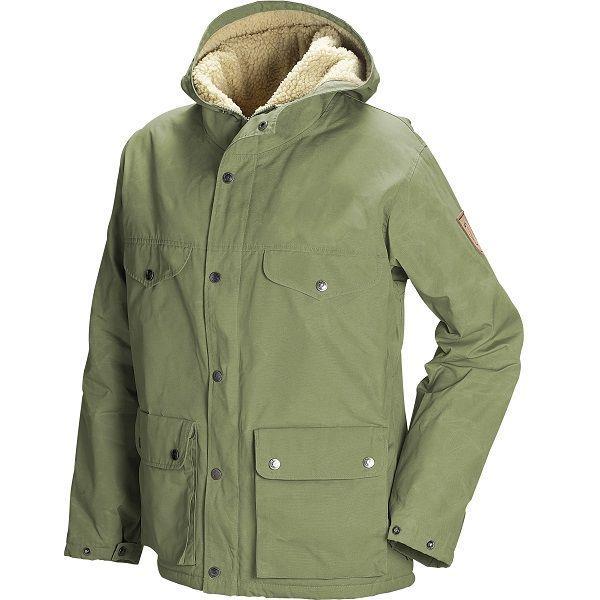 Fjällräven Greenland Winter Jacket Womens, Green