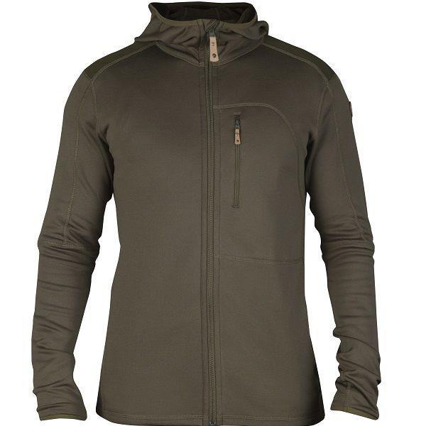 Fjällräven Keb Fleece Jacket Mens, Tarmac