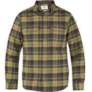 Fjällräven Sarek Heavy Flannel Shirt Mens, Green