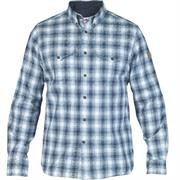 Fj�llr�ven Sarek Shirt L/S Mens, Estate Blue