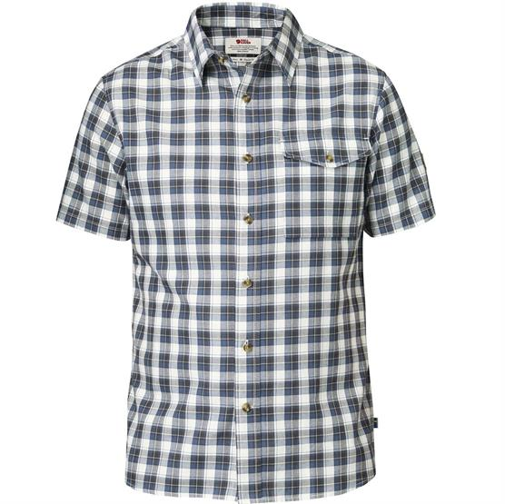 Fjällräven Sarek Shirt S/S Mens, Uncle Blue