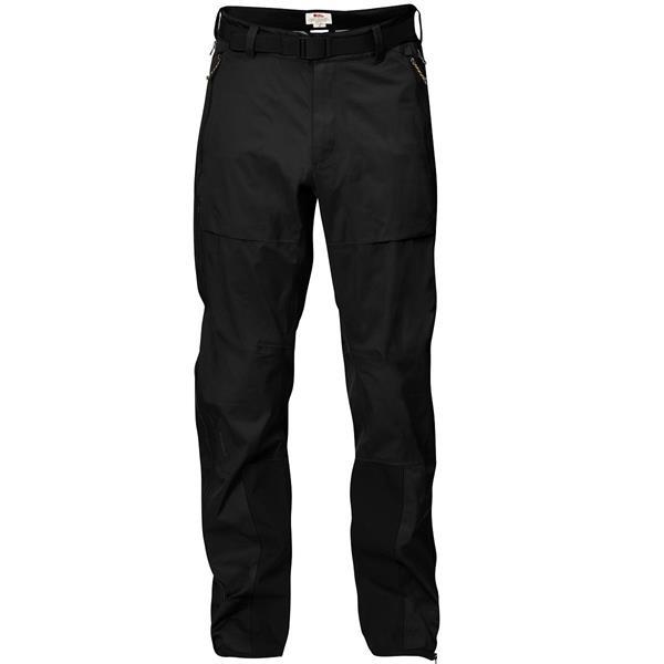 Fjällräven Keb Eco Shell Trousers Mens, Black