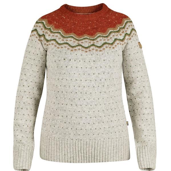 390d3562 Fjällräven Övik Knit Sweater Womens, Tarmac