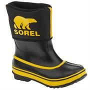 Sorel Rainbou B�rn, Black / Cyber Yellow