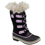 Sorel Youth Tofino B�rn, Black / Hydrangea