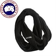 Canada Goose Kendall Infinity Scarf, Black