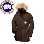 Canada Goose Ladies Expedition Parka, Brown