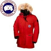 Canada Goose Ladies Expedition Parka, Red