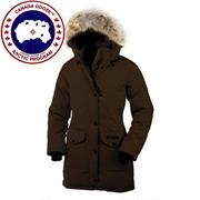 Canada Goose Ladies Trillium Parka, Brown