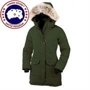 Canada Goose Ladies Trillium Parka, Military Green