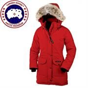 Canada Goose Ladies Trillium Parka, Red
