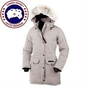 Canada Goose Ladies Trillium Parka, Light Grey