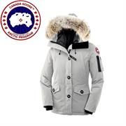 Canada Goose Ladies Montebello Parka, Light Grey