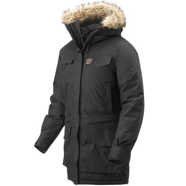 9e81639b Fjällräven Nuuk Parka Varm og behageligg jakke til den kolde tid køb nu