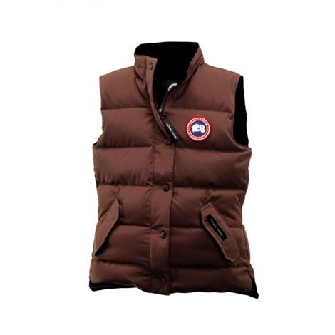 Canada Goose Ladies Freestyle Vest, Caribou