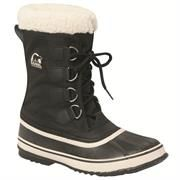 Sorel Winter Carnival Dame, Black / Stone