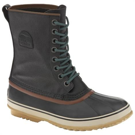 Sorel 1964 Premium T Herre, Black / Dark Green