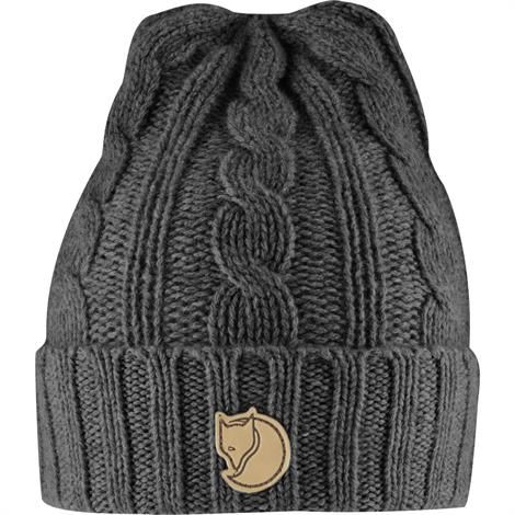 Strikhue fra Fjällräven | Braided Knit Hat