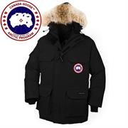 Canada Goose Mens Expedition Parka, Black