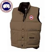 Canada Goose Mens Freestyle Vest, Tan