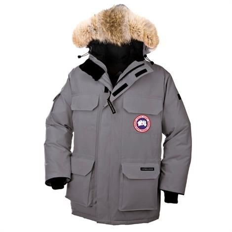 Canada Goose Mens Expedition Parka, Mid Grey