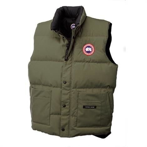 Canada Goose Mens Freestyle Vest, Military Green