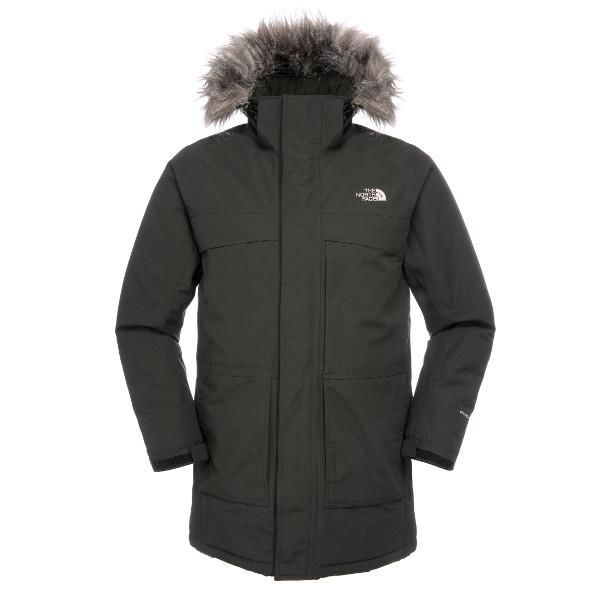 The North Face Mens New Nanavik Parka, Black
