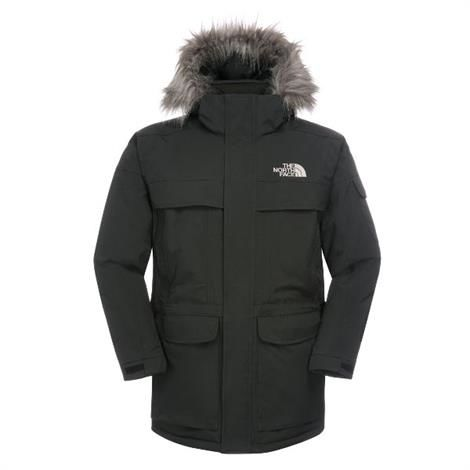 The North Face Mens New Mcmurdo Parka, Black