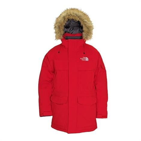 cd2d81ea The North Face Mens McMurdo Parka, Red superlækker dun vinterjakke ...