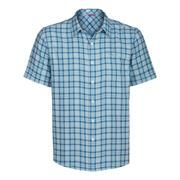 The North Face Mens S/S Dark Angle Woven, Athens Blue
