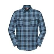The North Face Mens Take Flannel, China Blue Plaid