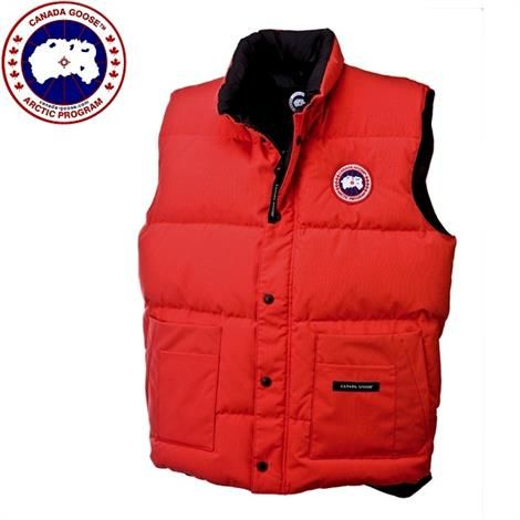 Canada Goose Mens Freestyle Vest, Red
