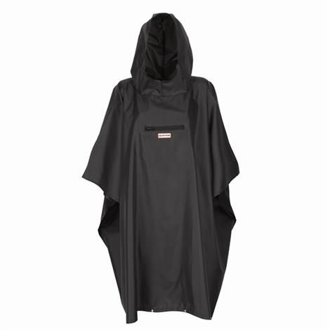 Hunter Festival Pocket Poncho, Black