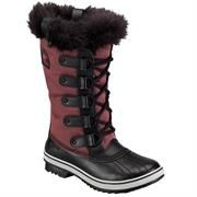 Sorel Tofino Nylon Dame, Chili / Black
