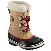 Sorel Yoot Pac Nylon Børn, Curry / Red Dahlia