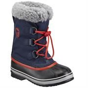 Sorel Yoot Pac Nylon Børn, Collegiate Navy / Sail Red