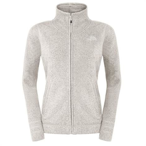 The North Face Womens Crescent Sunset Full Zip, Gardenia