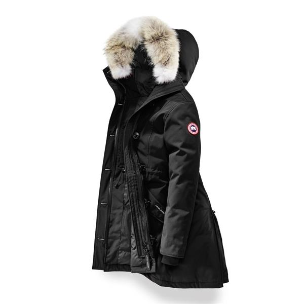 a6c1340f8 Canada Goose Ladies Rossclair Parka, Black