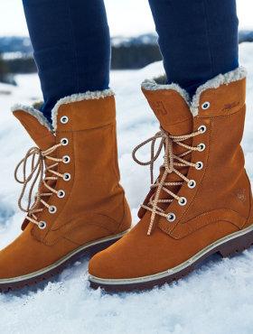 vinterstøvler tilbud dame