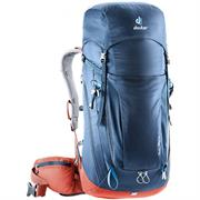 Deuter Trail Pro rygsæk på 36 liter | Midnight-Lava
