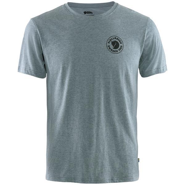 Fjällräven 1960 Logo T Shirt Mens, Uncle Blue Melange