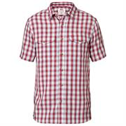 Fjällräven Abisko Cool Shirt S/S Mens, Red
