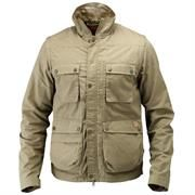 Fj�llr�ven Reporter Lite Jacket Mens, Light Khaki